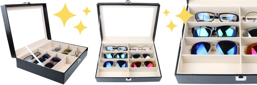 organizador gafas de sol ikea, Las mejores cajas para gafas, organizador de gafas, estuches para gafas, caja para lentes online