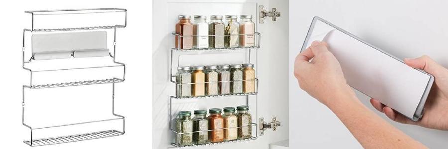 organizador especias, el mejor organizador de especias, el organizador de especias mas vendido, especiero puerta armario